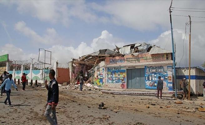 Somali'de başbakanın mitingine bombalı saldırı