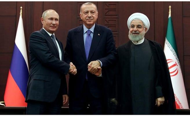 Ankara'daki üçlü zirve sona erdi... Önemli açıklamalar