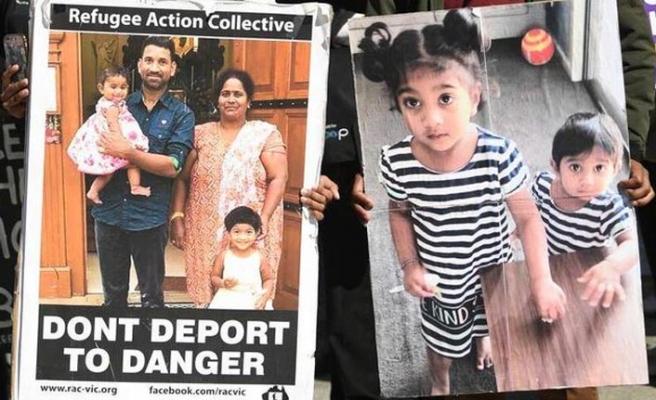 Avustralya'da Tamil ailenin sınır dışı edilmesi konusu mahkemeye sevkedildi