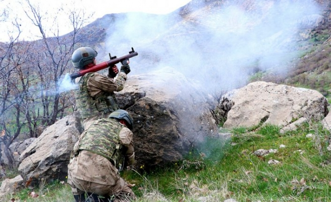 Teröristlere 'Kıran' darbesi: 2 terörist etkisiz hale getirildi