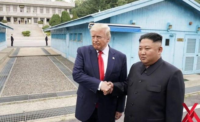 Trump Kuzey Kore'ye gidecek