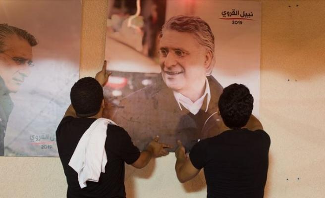 Tunus'ta anketlere göre ikinci tura kalan adaylar kutlamalara başladı