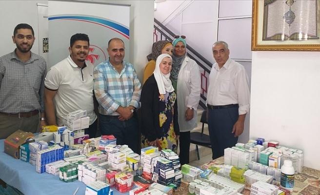 Türkiye mezunu Filistinlilerden Batı Şeria'da sağlık günü