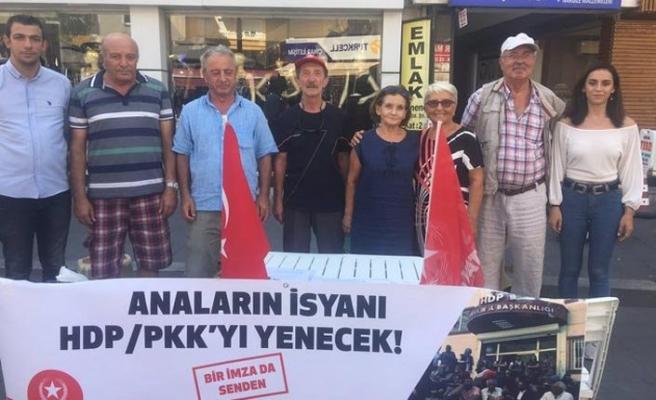 Vatan Partisinden Diyarbakır annelerine destek