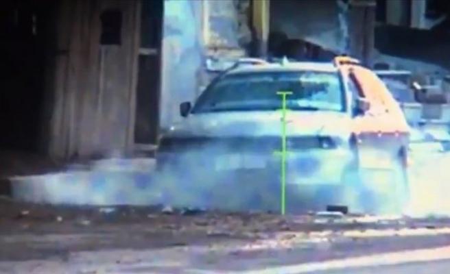 Tel Abyad'da bombalı araç imha edildi
