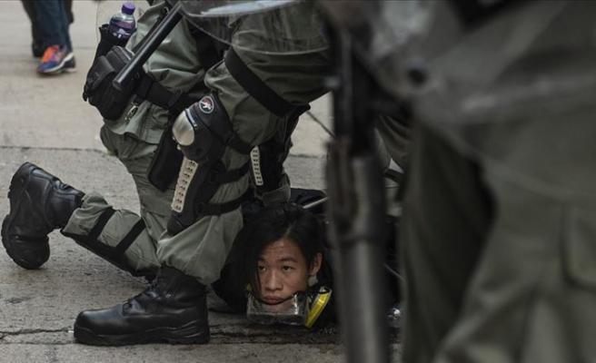 Çin İrtibat Ofisi, Hong Kong'taki protestolara daha sert müdahale edilmesini istedi