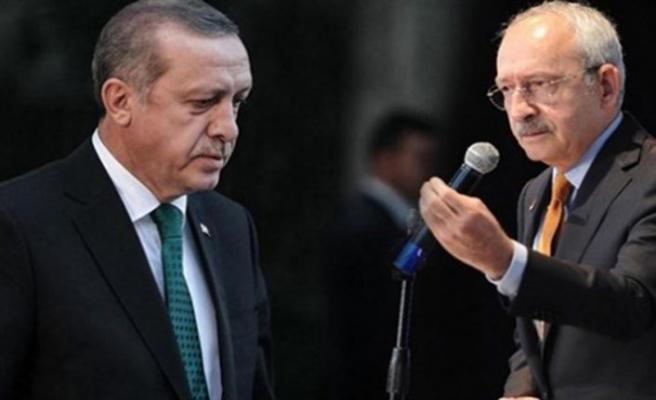 Erdoğan, Kılıçdaroğlu'nun 50 bin lirasını aldı