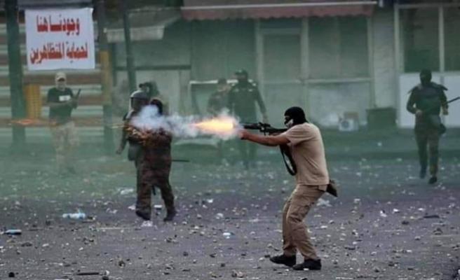 Irak gösterilerinde ölenlerden 'Üçüncü taraflar' sorumlu tutuldu