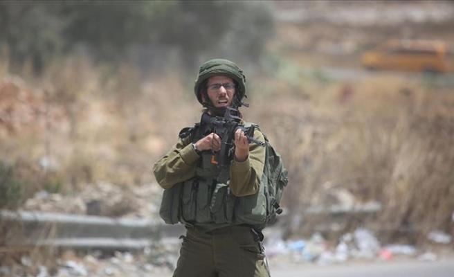 İsrail askerlerinin Batı Şeria'daki gösterilere müdahalesinde 2 Filistinli yaralandı