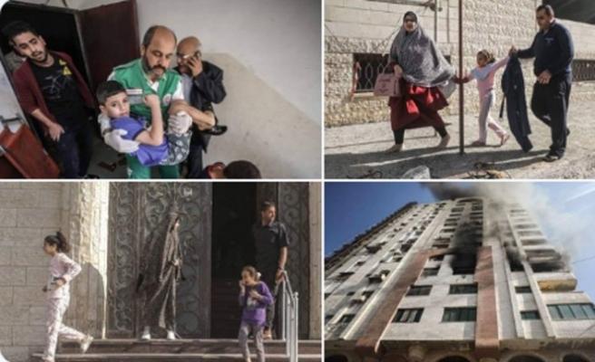 İsrail'den Filistin'e hava saldırısı: 1 ölü