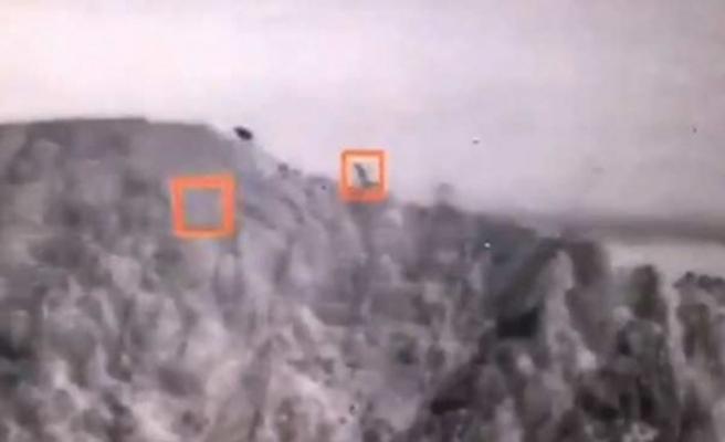 PKK'nın kullandığı mühimmat deposu imha edildi