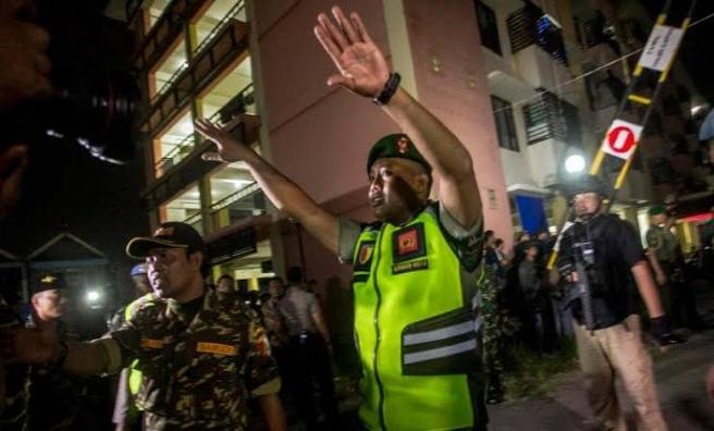 Polis merkezine bombalı intihar saldırısı düzenlendi