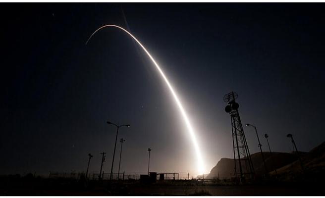 ABD açıkladı: Balistik bir füzenin prototipini denedik