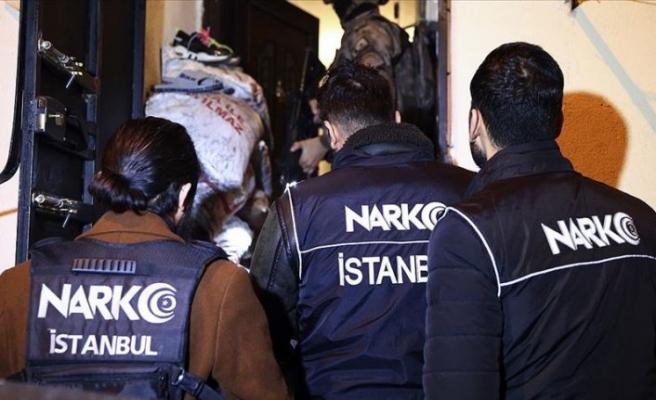 Uyuşturucu tacirlerine dev operasyon: 103 gözaltı