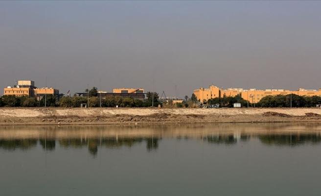 ABD'nin Bağdat Büyükelçiliği yakınlarına füzeli saldırı