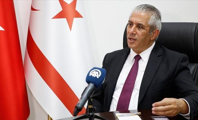 KKTC Enerji Bakanı Taçoy: Ada'da korsan bir devlet varsa o da Rum liderliğidir