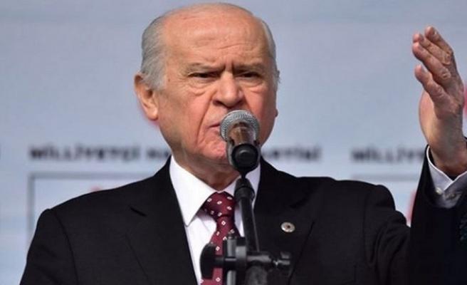 Bahçeli'den CHP, İP ve HDP'ye veryansın