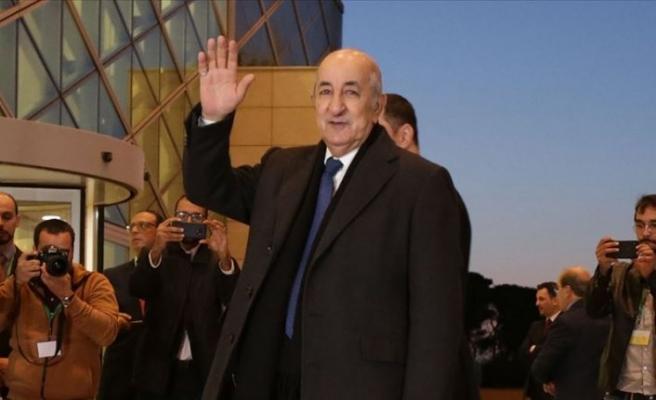 Cezayir Cumhurbaşkanı Tebbun: Libyalı tarafların diyaloglarına ev sahipliği yapmaya hazırız
