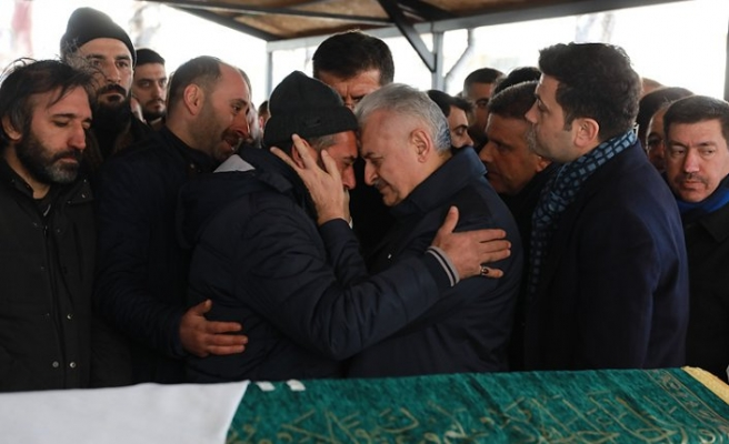 Depremde hayatını kaybedenler Rahmet-i Rahman'a uğurlandı