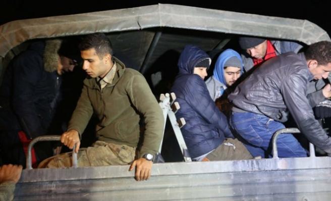 Edirne'de 201 kaçak göçmen yakalandı