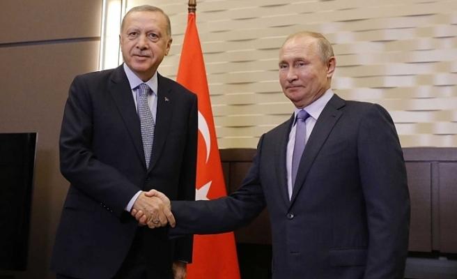Erdoğan, Berlin'de Putin ile görüşecek