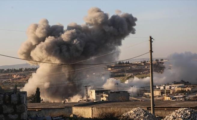 Esed rejimi ve Rusya'nın İdlib'e hava saldırılarında 8 sivil öldü
