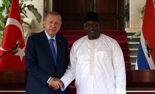 'Gambiya ile Türkiye ikili ilişkilerinin en önemli göstergelerinden biri halklar arasındaki temasın gelişiyor olması'