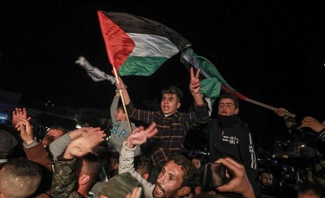 Gazze'de ABD'nin sözde barış planına yönelik protestolar sürüyor