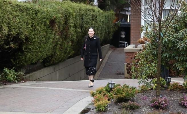 Huawei yöneticisi Vancou'nun 'ABD'ye iade' davası Vancouver'da başladı