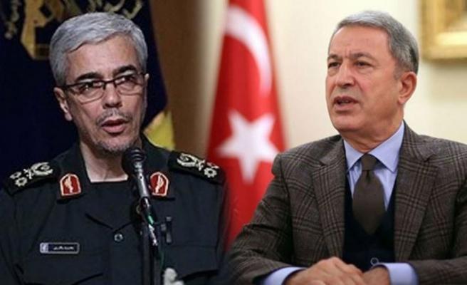 Hulusi Akar'dan İran'ın üst düzey sorumlularına telefon