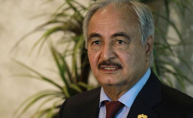 Libya'daki gayrimeşru güçlerin lideri Hafter Atina'ya gitti