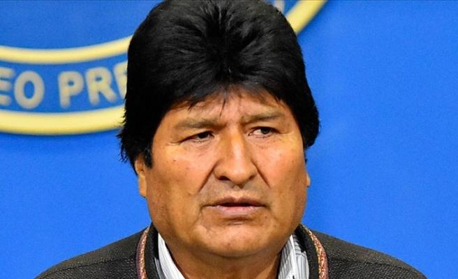 Morales, Bolivya'da ordunun sokağa çıkmasına tepkili