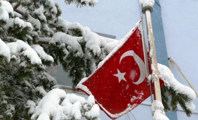 Tokat'ta 129 köy yolu ulaşıma kapandı