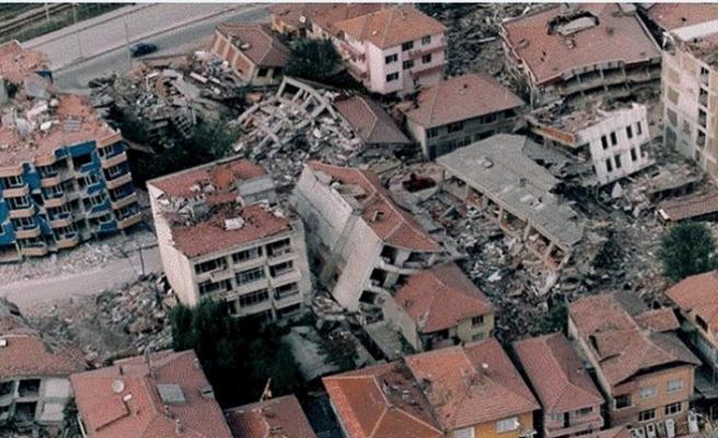Yeryüzü şiddetle sallandığı zaman…