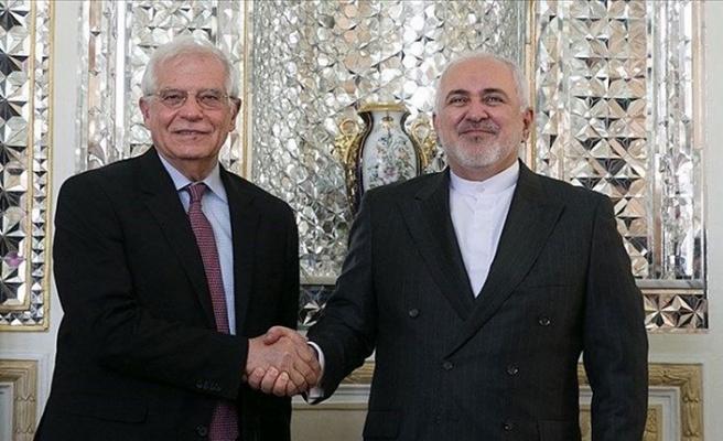 AB Yüksek Temsilcisi Borell Tahran'da Zarif'le 'nükleer anlaşmayı' görüştü