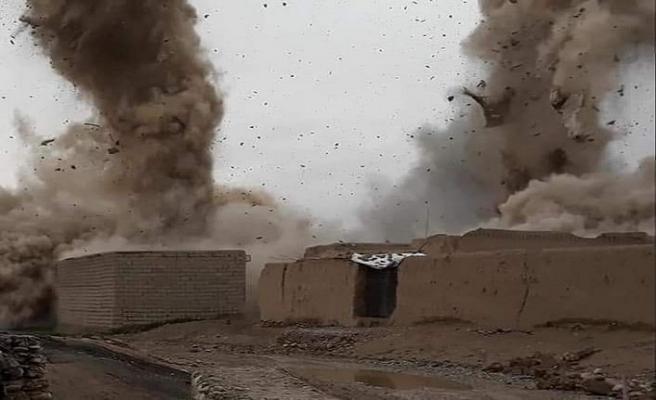 Afganistan'da ABD hava saldırısı