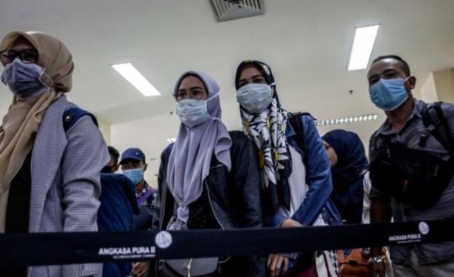 Endonezya 238 vatandaşını Çin'den tahliye etti