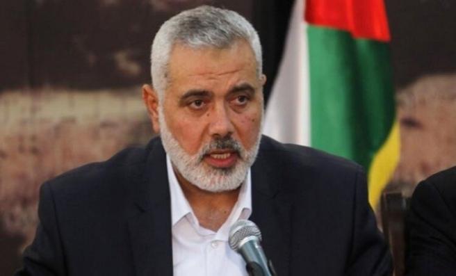 Hamas Siyasi Büro Başkanı Heniyye: Direnişin silahı pazarlık konusu edilemez