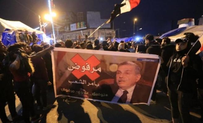 Irak'ta göstericiler Allavi'yi kabul etmiyor