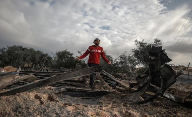 İşgalci İsrail ordusu, Gazze'ye hava saldırısı düzenledi