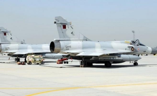 Katar ve Pakistan hava kuvvetlerinden ortak askeri tatbikat