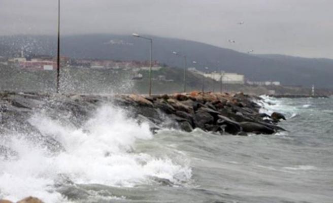 Orta Karadeniz'e fırtına uyarısı