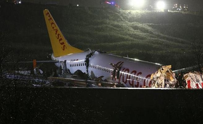 Pegasus uçak kazasında ölenlerin isimleri belli oldu