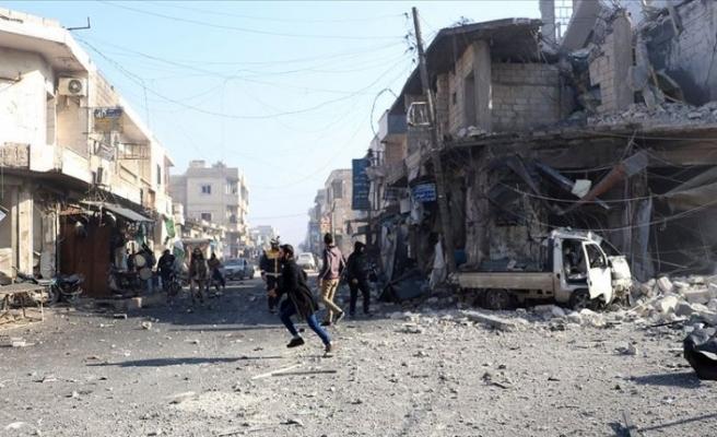 Rejim güçleri İdlib Gerginliği Azaltma Bölgesi'ndeki yerleşimleri ele geçirmeyi sürdürüyor
