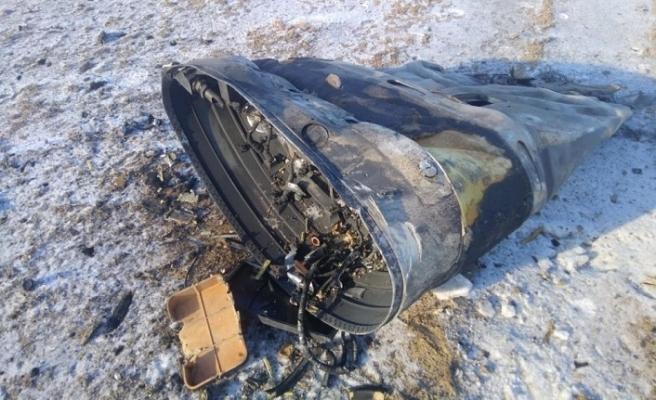 Rus roketi Kazakistan'a düştü