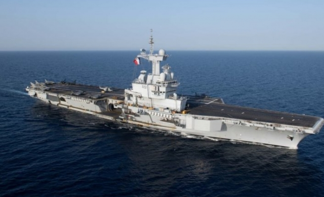 Yunanistan ve Rumların Fransız uçak gemisi Charles De Gaulle yalanı ortaya çıktı