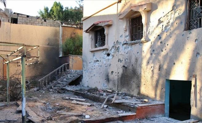 Hafter milislerinin attığı füze bir eve isabet etti: 1 çocuk öldü