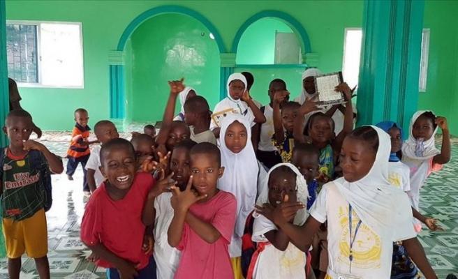 Moribah'ın cami hayali, okul ve yetimhane projesine vesile oldu