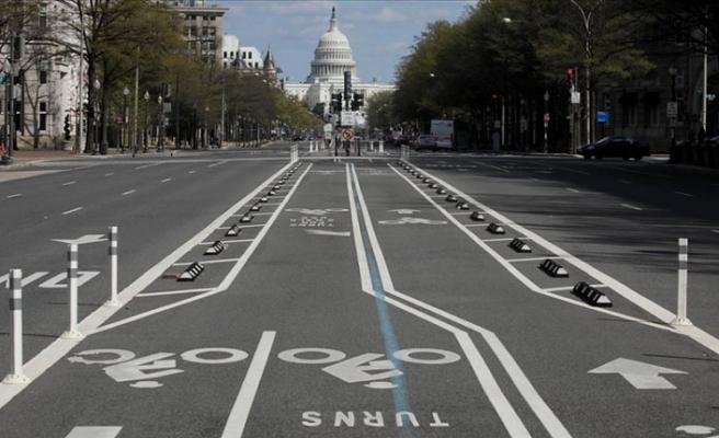 ABD'nin başkenti Washington'da 'evde kal' talimatı 8 Haziran'a uzatıldı