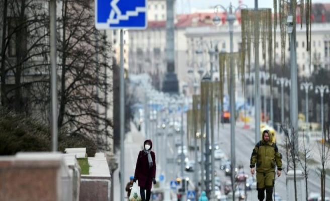 Belarus'ta vaka sayısı 627 kişi daha arttı